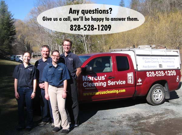 Marcus' Cleaning Service Crew